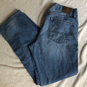 Lucky Brand 363 Vintage Straight Mens Jeans 34x32